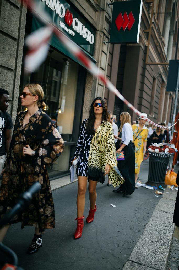 They Are Wearing: Milan Fashion Week Spring 2019