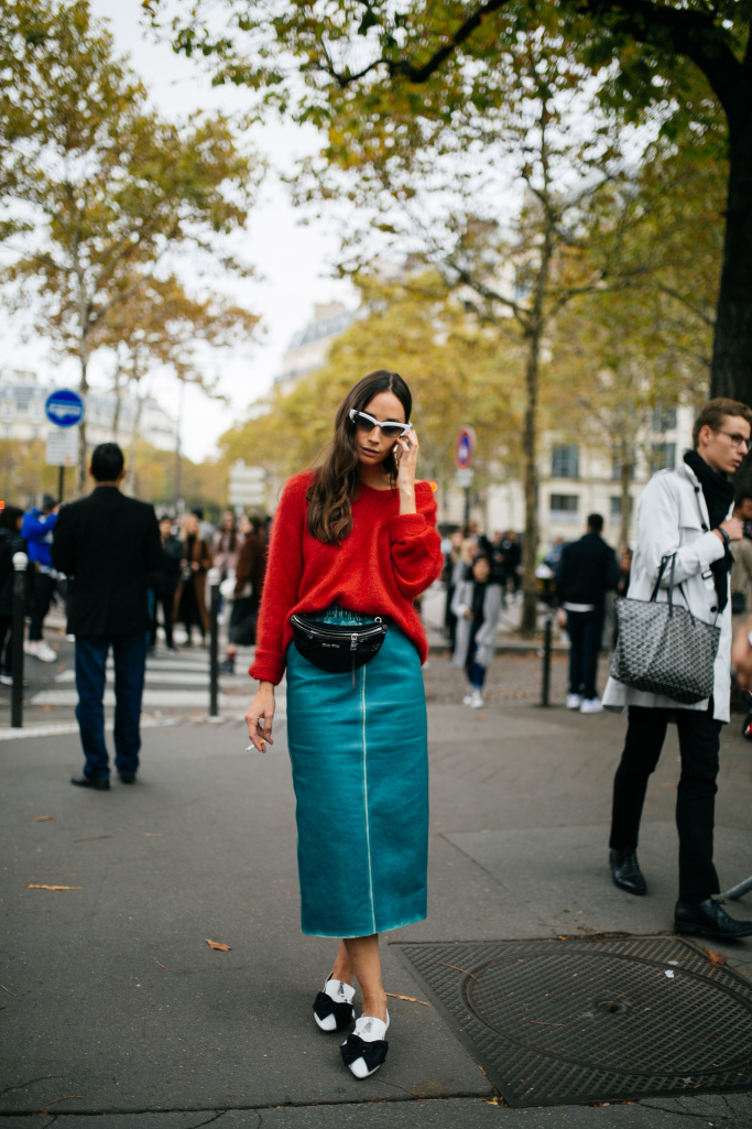 They Are Wearing: Paris Fashion Week Spring 2019